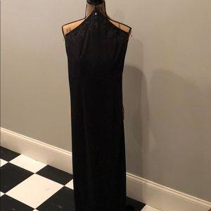 Long formal cocktail dress